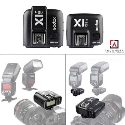 Trigger Godox X1 tích hợp TTL, HSS 1/8000s
