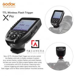 Trigger Godox Xpro Tích Hợp TTL, HSS 1/8000s - For Nikon