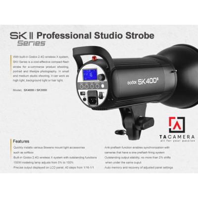 Đèn flash studio Godox SK400II
