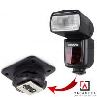 Chân Đế - Hotshoe Đèn Flash Godox TT685 Canon/Nikon/Sony