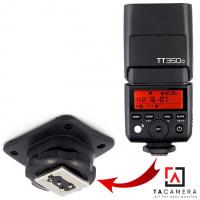 Chân Đế - Hotshoe Đèn Flash Godox TT350 Canon/Nikon/Sony