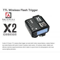 Trigger Godox X2T tích hợp TTL - HSS 1/8000 - For Fujifilm