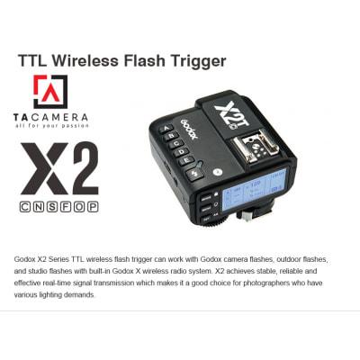 Trigger Godox X2T tích hợp TTL - HSS 1/8000 - For Canon