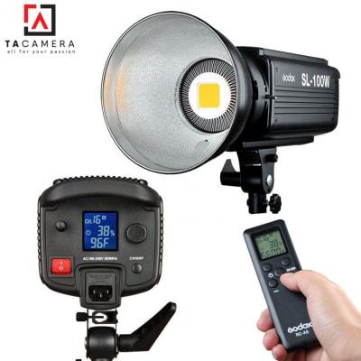 Đèn LED Godox SL100 - Đèn Ánh Sáng Liên Tục - BH 12T