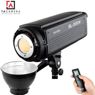 Đèn LED Godox SL200 - Đèn Ánh Sáng Liên Tục - BH 12T