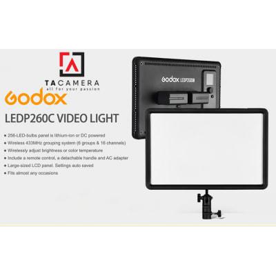 Đèn LED Godox P260C - Tặng Cục Nguồn