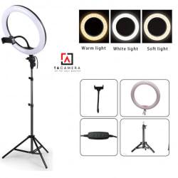 Đèn LED Ring Light TA330 33cm - Tặng Kèm Chân Đèn