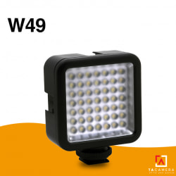 Đèn Led Mini Video Light W49 (49 LED)
