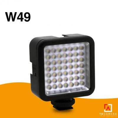 Đèn Led Mini Video Light W49 (49 LED)