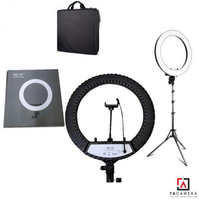 Đèn LED Ring Light HQ45 45cm - Tặng Kèm Chân Đèn