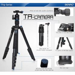 Chân máy ảnh (Tripod) Benro iTrip IT15