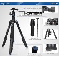 Chân máy ảnh Tripod & Monopod 2in1 Benro iTrip IT25