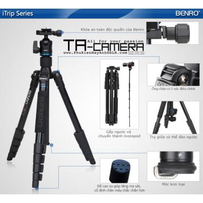 Chân máy ảnh (Tripod) Benro iTrip IT25