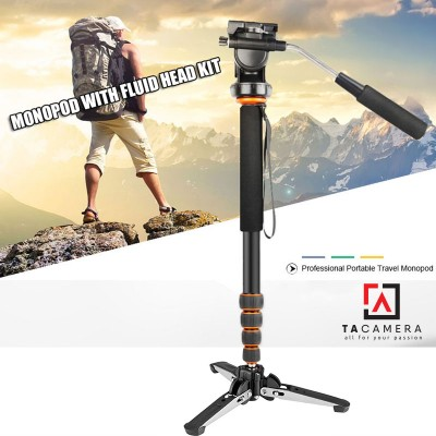 Chân máy ảnh - Monopod Beike Q-188 + Chân 3