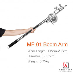 Tay Treo Đèn Inox MK MF-01 - Boom Lights