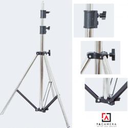 Chân Đèn Light Stand Inox 4m - Ống To - Rất Chắc Chắn
