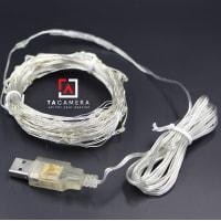 LED Fairy Lights - Đèn Đom Đóm - Size 5m 50 Bóng - Nguồn USB