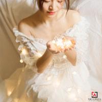 Dây Đèn LED Viên Bi - Size 4m - 40 trái - 40 LED - Nguồn Pin AA