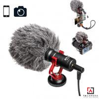 Micro Thu Âm Boya MM1 dùng cho điện thoại và DSLR camera (Chính hãng)