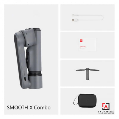 Gimbal Smooth X Combo - Zhiyun Tech - Gimbal Chống Rung Điện Thoại