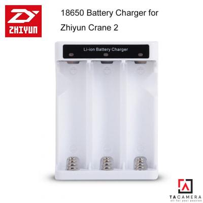 Sạc Zhiyun 3 Pin 18650 Cho Gimbal Zhiyun Crane 2, Crane 3, Weebill LAB