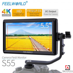 Màn Hình Feelworld S55 5.5inches 4K