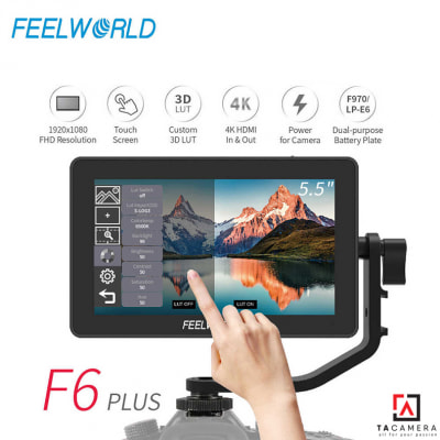 Màn Hình Feelworld F6 Plus 5.5inches 4K 3D Touch Screen IPS - BH12T