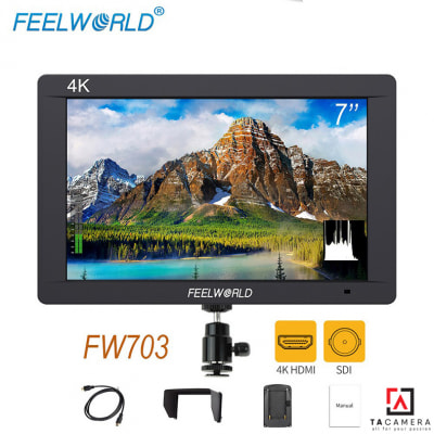 Màn Hình Feelworld FW703 7inches 4K - BH12T