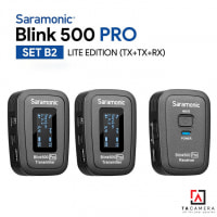 Micro Không Dây Saramonic Blink 500 Pro B2 ( TX+TX+RX ) - Chính Hãng
