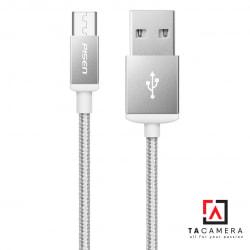 Cáp sạc Pisen cổng Micro USB dây dù cao cấp