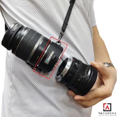Lens HOLDER - Đế Gắn 2 Lens Thao Tác Nhanh for Canon
