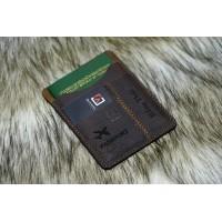 Ví passport từ Da Bò làm thủ công