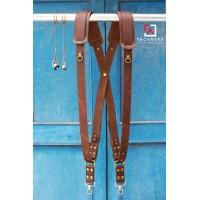 Dây Đeo 2 Máy Ảnh - Double Strap Da Bò Handmade TA5001