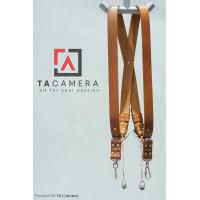 Dây Đeo 2 Máy Ảnh - Double Strap Da Thật Handmade TA5004