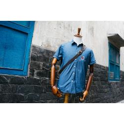 Dây đeo Máy Ảnh Thao Tác Nhanh Da Bò Handmade TA5011