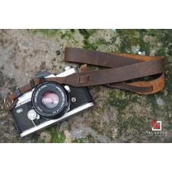 Dây đeo Máy Ảnh Da Bò Handmade Vintage TA5026