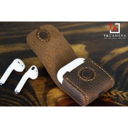 Case Airpods da bò handmade TA5044