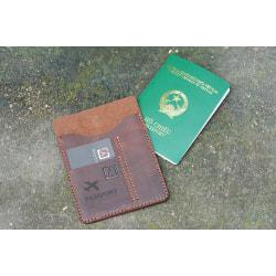 Ví Passport Da Bò Handmade TA5046