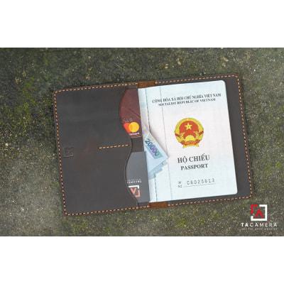 Ví Passport Da Bò Handmade TA5047